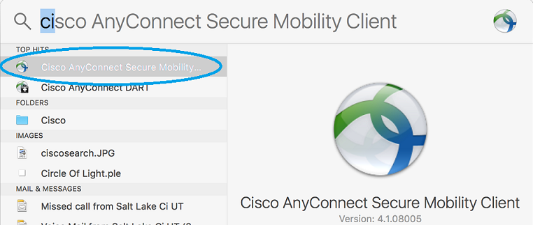 how to use cisco anyconnect vpn client mac